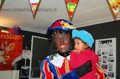 Kindje wil bij Piet